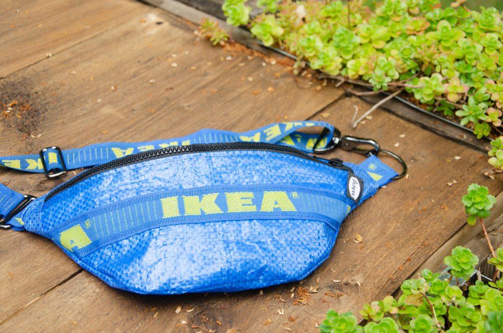 Nahaufnahme der Ikea Buchtasche