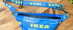 Ikea Upcycling Bauchtasche Beitragsbild