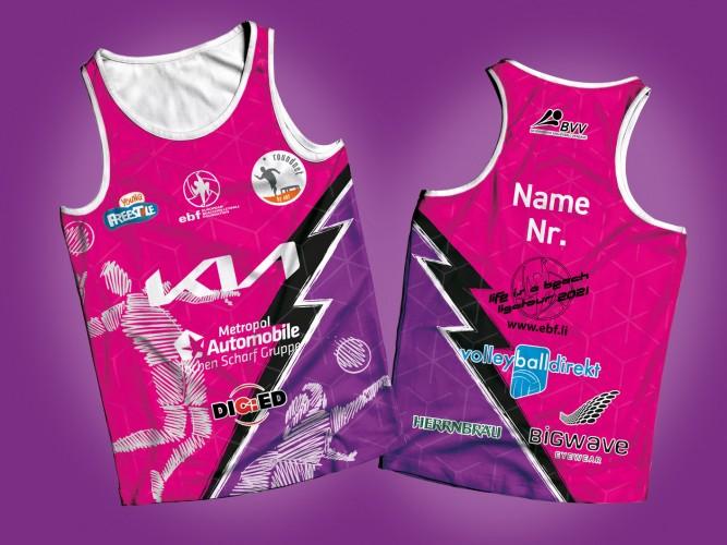 ebf Playershirt in Pink